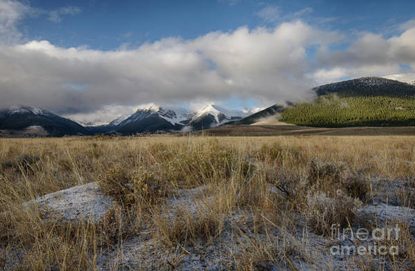 Wall Art - Photograph - Bell Mountain Mists by Idaho Scenic Images Linda Lantzy