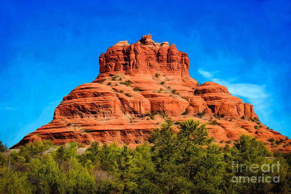 Photograph - Bell Rock Tower by Jon Burch Photography
