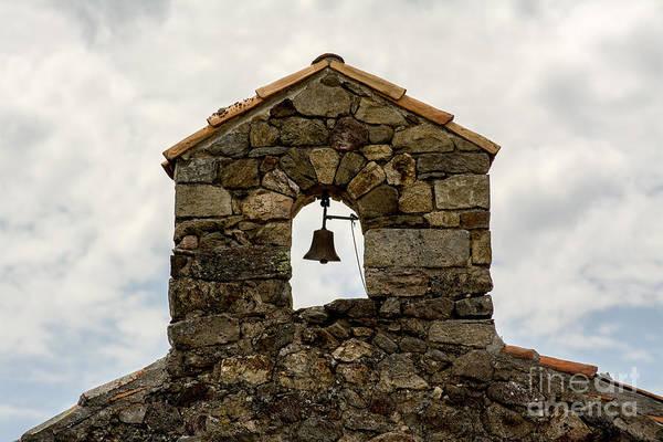 Bell Tower Photograph - Bell Tower Of A Chapel. France. by Bernard Jaubert