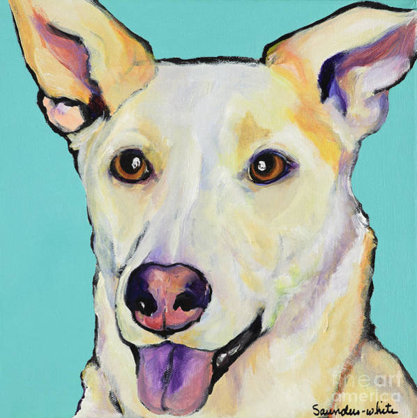 Painting - Bella by Pat Saunders-White