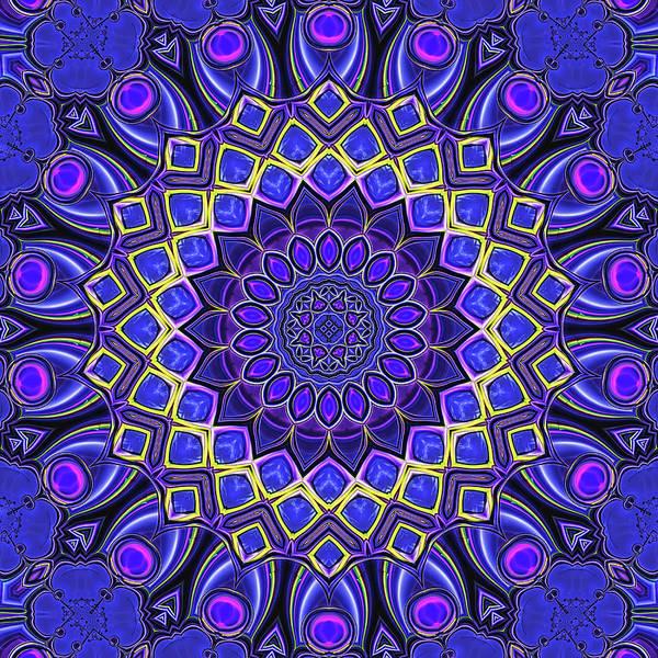 Digital Art - Bella - Purple by Wendy J St Christopher