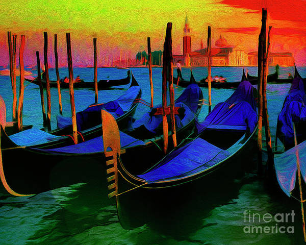 Digital Art - Bella Venecia by Edmund Nagele