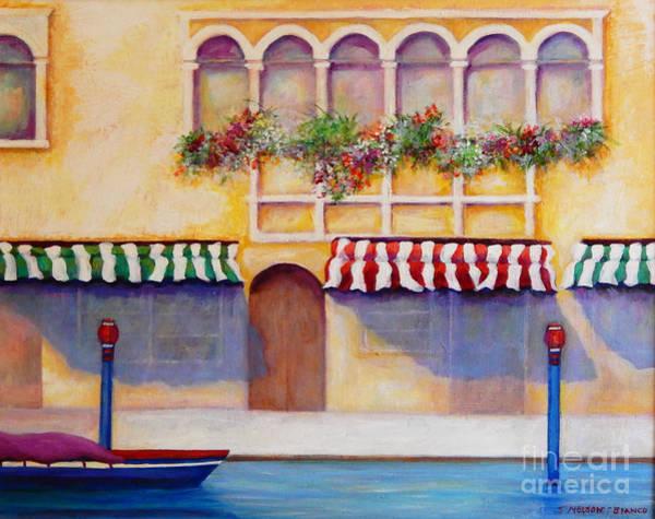 Wall Art - Painting - Bella Venezia by Sharon Nelson-Bianco