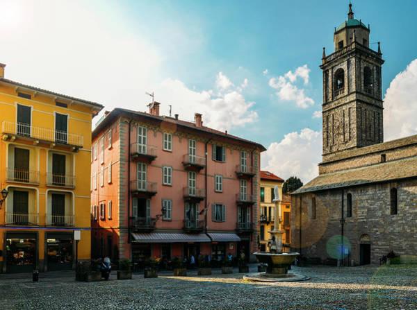 Bellagio, Lake Como, Italy. Art Print
