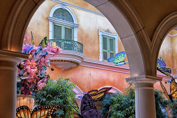 Photograph - Bellagio Las Vegas At Springtine by Tatiana Travelways