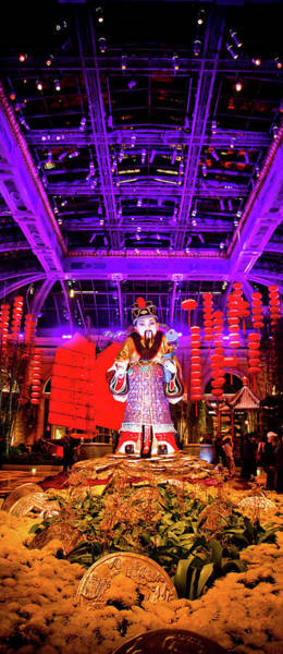 Chinese New Year Photograph - Bellagio by Patrick  Flynn
