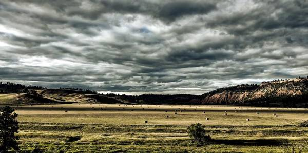 Crooked River Photograph - Belle Fourche River Valley by L O C