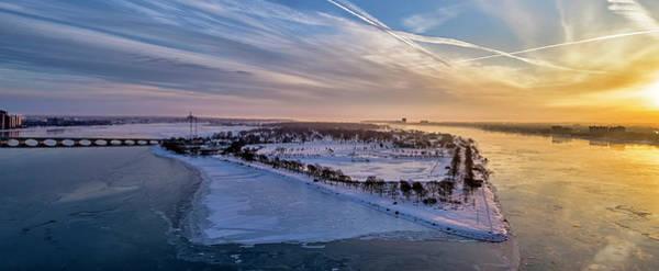 Belle Isle Photograph - Belle Isle Sunrise by Pat Eisenberger