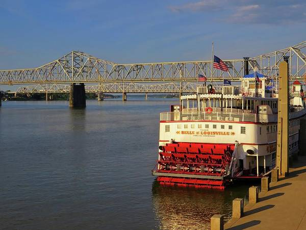 The Belvedere Photograph - Belle Of Louisville by Connor Beekman