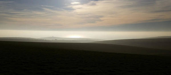 Digital Art - Towards Belle Tout by Julian Perry
