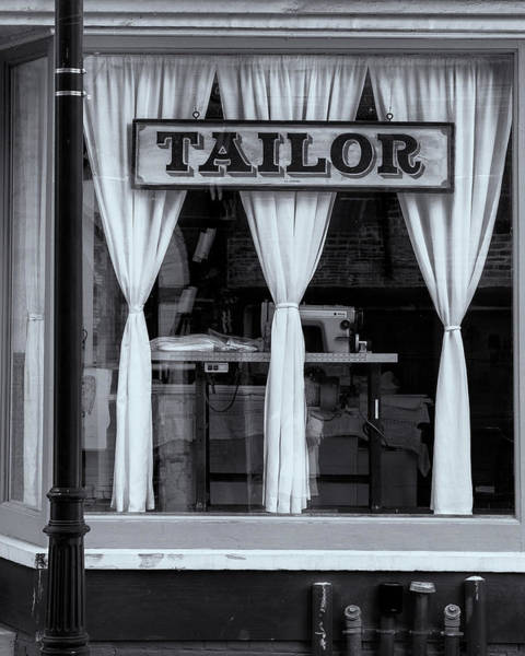 Photograph - Bellows Falls Tailor by Tom Singleton