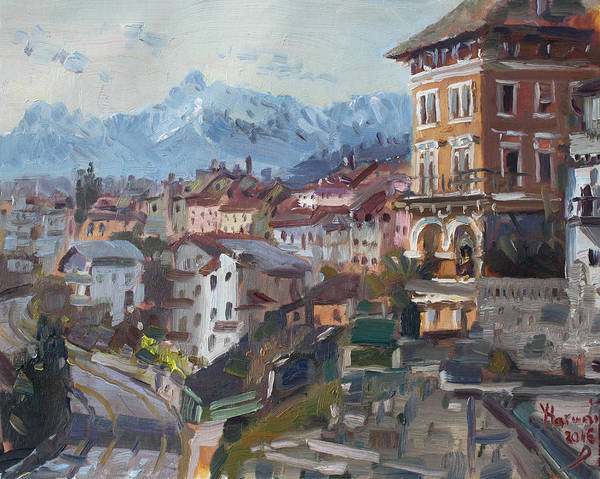 Wall Art - Painting - Belluno, Italy by Ylli Haruni