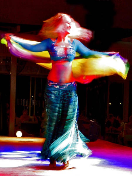 From Russia With Love Wall Art - Photograph - Belly Dance by Andy Za
