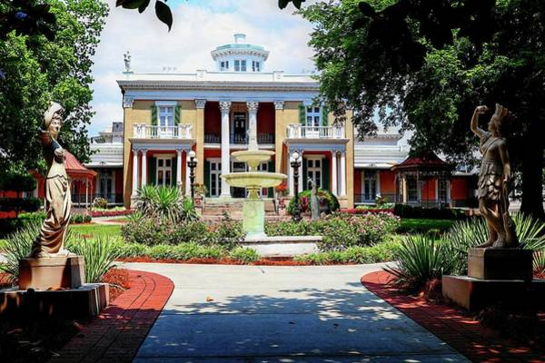 Photograph - Belmont Mansion by Carol Montoya