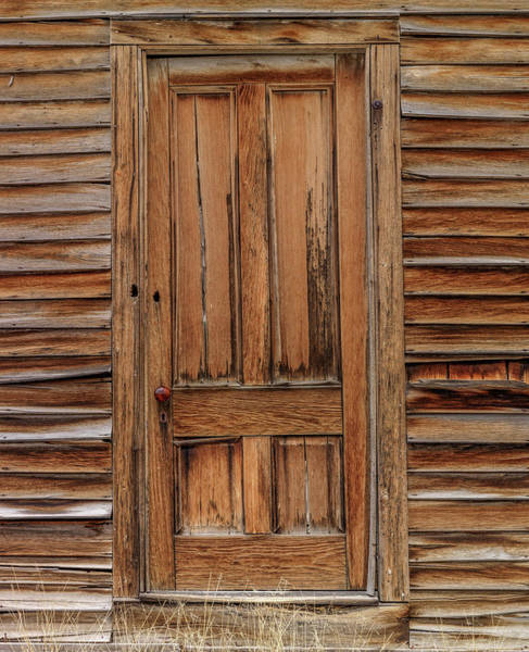 Wall Art - Photograph - Belmont Nevada Door by Leland D Howard