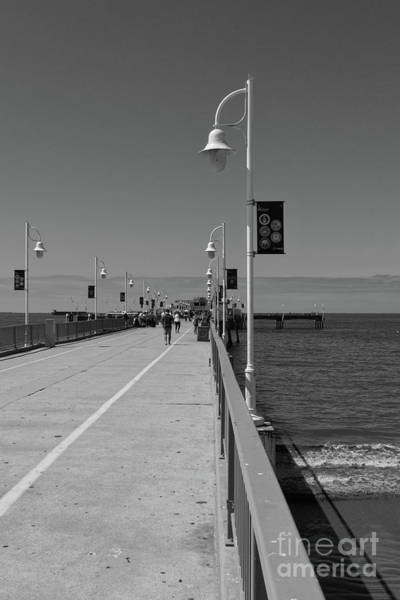 Wall Art - Photograph - Belmont Veterans Memorial Pier 2 by Ana V Ramirez