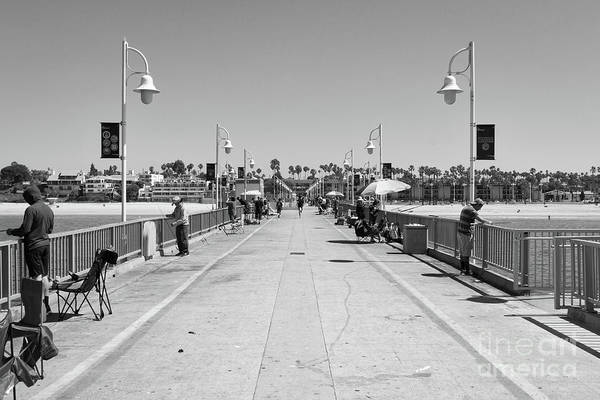 Photograph - Belmont Veterans Memorial Pier 3 by Ana V Ramirez