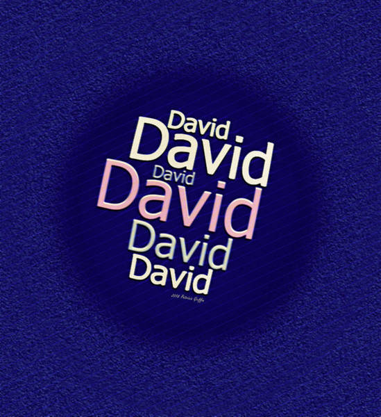 Digital Art - Beloved David by Patricia Griffin