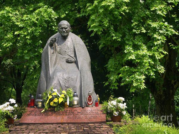 Photograph - Beloved John Paul In Krakow by Brenda Kean