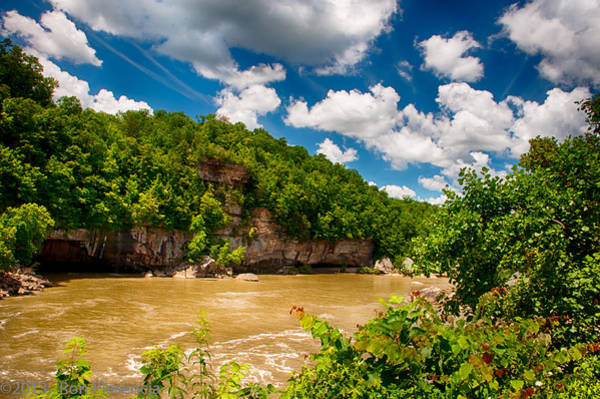 Wall Art - Photograph - Below Cumberland Falls by Ron Plasencia