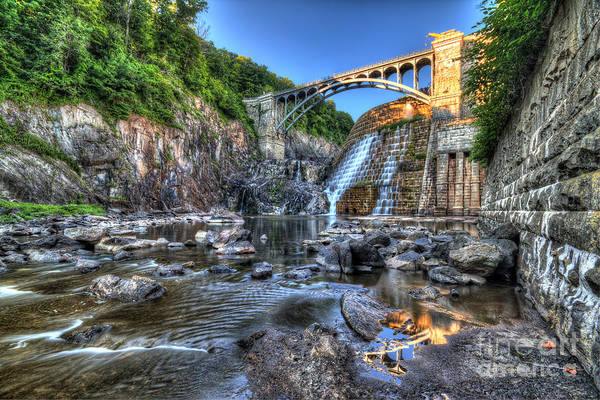 Photograph - Below The Dam by Rick Kuperberg Sr