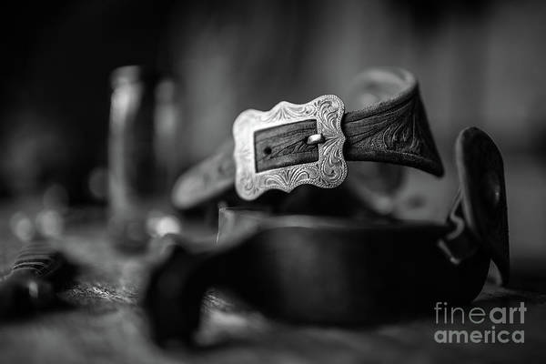 Photograph - Belt Buckle by Patti Schulze