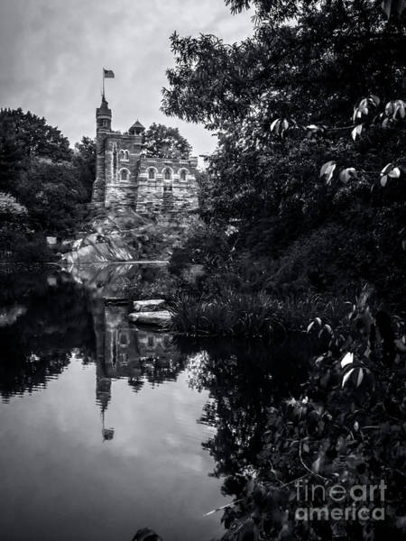 The Belvedere Photograph - Belvedere Castle And The Turtle Pond by James Aiken
