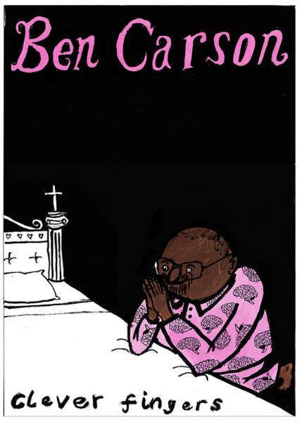 Ben Carson Clever Fingers Poster Art Print