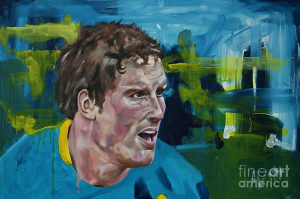 Painting - Ben Harrison by James Lavott