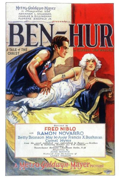 Mixed Media - Ben Hur 1925 by Movie Poster Prints