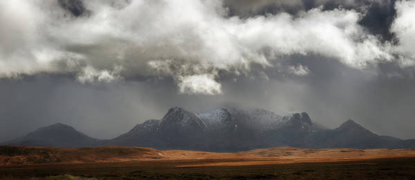 Photograph - Ben Loyal Panorama by Grant Glendinning