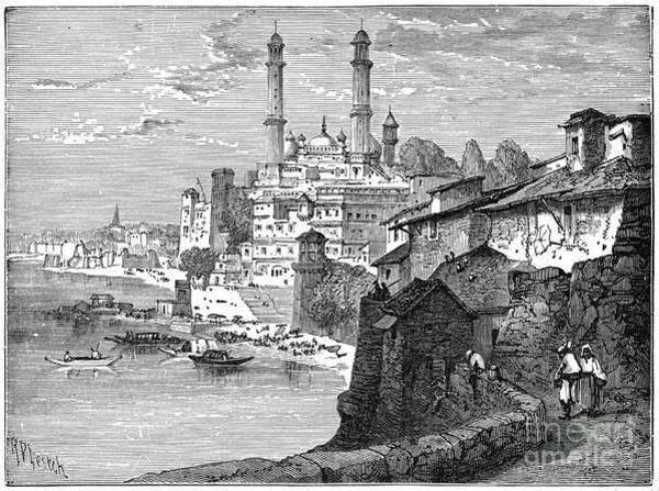 Drawing - Benares, C1894.  by Granger
