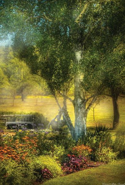 Photograph - Bench - I Had This Dream And It All Began by Mike Savad