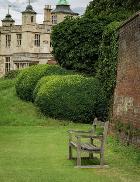 Photograph - Bench At Audley End by Jean Noren