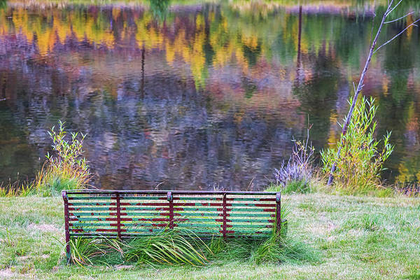 Photograph - Bench For Day Dreaming by James BO Insogna
