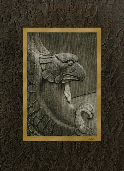 Wall Art - Photograph - Benched Eagle by Gordon Beck