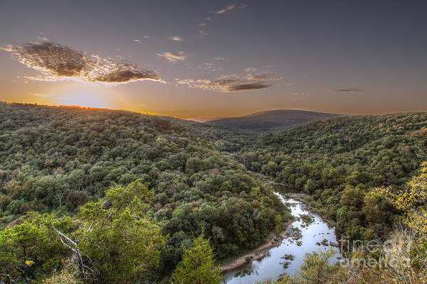 Missouri Ozarks Photograph - Bend In The River by Larry Braun