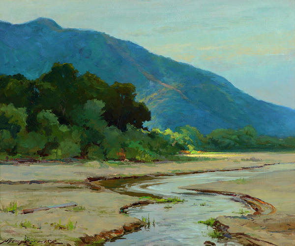 Wall Art - Painting - Bend In The River by Sydney Mortimer Laurence