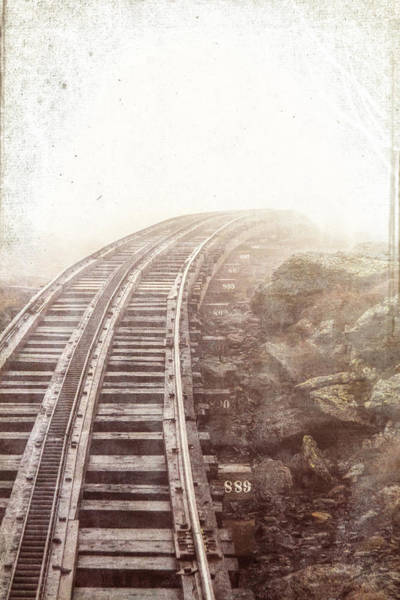 Photograph - Bend In The Tracks by Natalie Rotman Cote