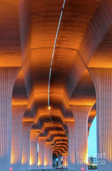 Photograph - Bendy Bridge by Tom Claud