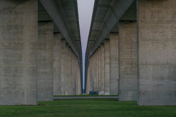 Low Battery Photograph - Beneath A Charleston Interstate by Willie Harper