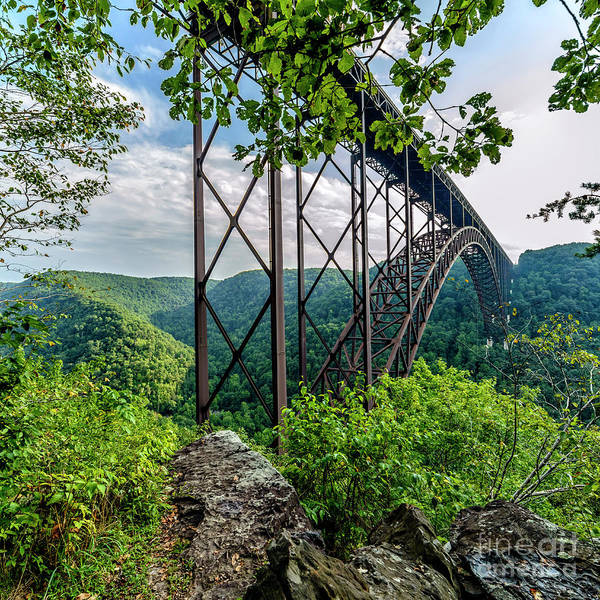 Photograph - Beneath New River Gorge Bridge by Thomas R Fletcher