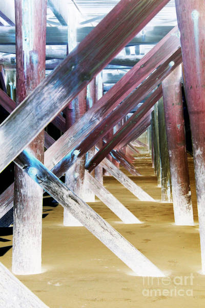 Wall Art - Photograph - Beneath The Docks by Jamie Lynn