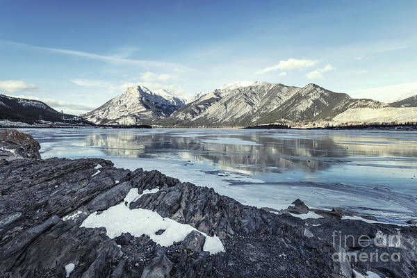 Wall Art - Photograph - Beneath The Frozen Sky by Evelina Kremsdorf