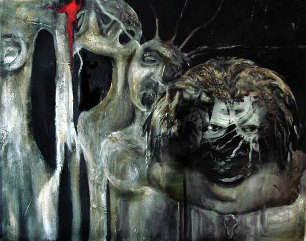 Beneath The Mask Art Print