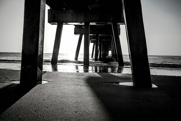 Photograph - Beneath The Pier by Eric Christopher Jackson
