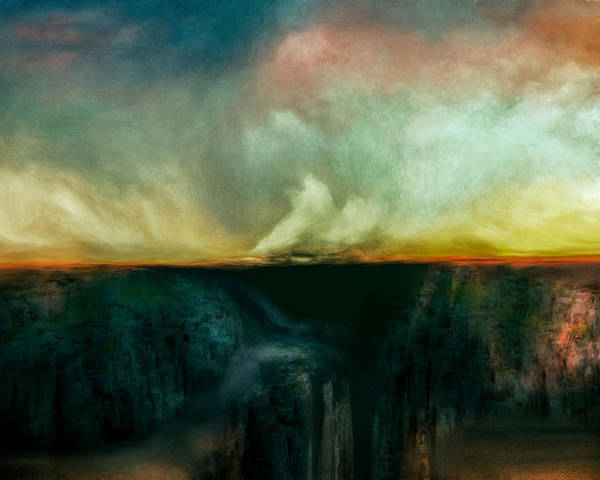 Stormy Digital Art - Beneath The Surface by Lonnie Christopher