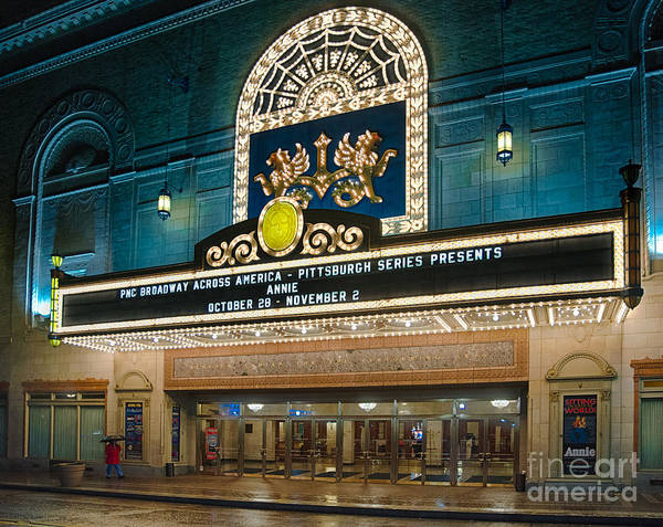 Center Stage Photograph - Benedum Center by Amy Cicconi