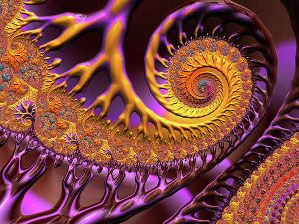 Digital Art - Beneficial Bacteria by Susan Maxwell Schmidt