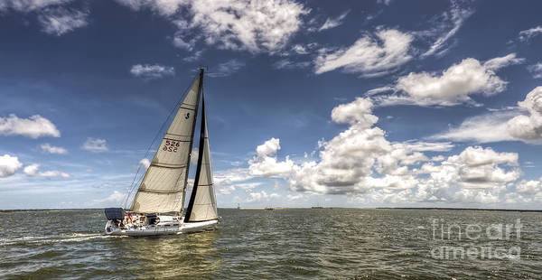 Wall Art - Photograph - Beneteau First 40.7 by Dustin K Ryan